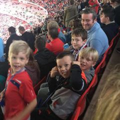 MPE Under 8s go to Wembley ! England 2 v 0 Malta 8/10/2016