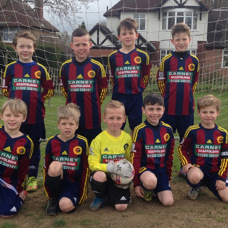 A step into Under 8s... 2016/2017
