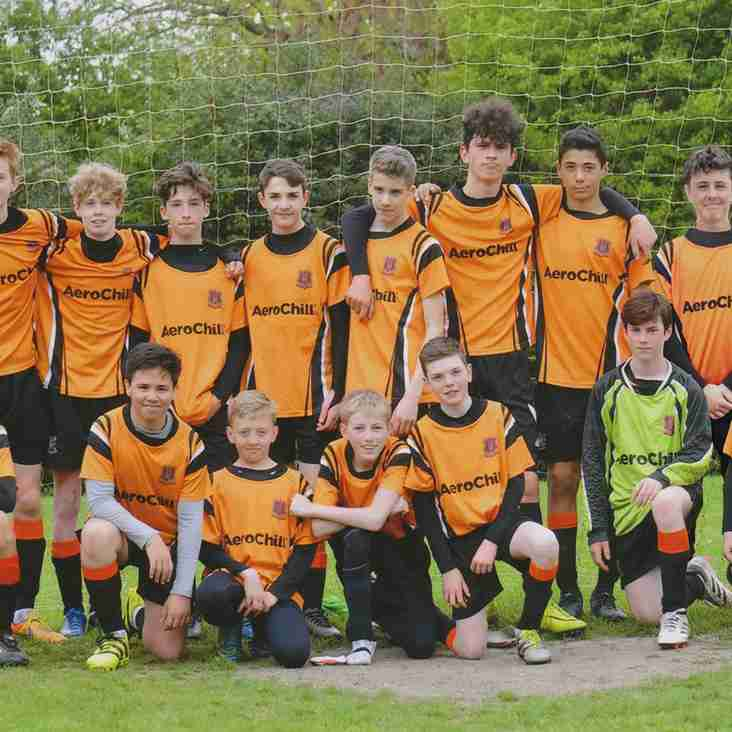 Hearts U14 Tigers Win Division 6