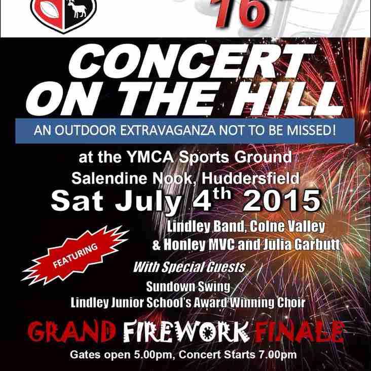 Concert on the Hill 16!