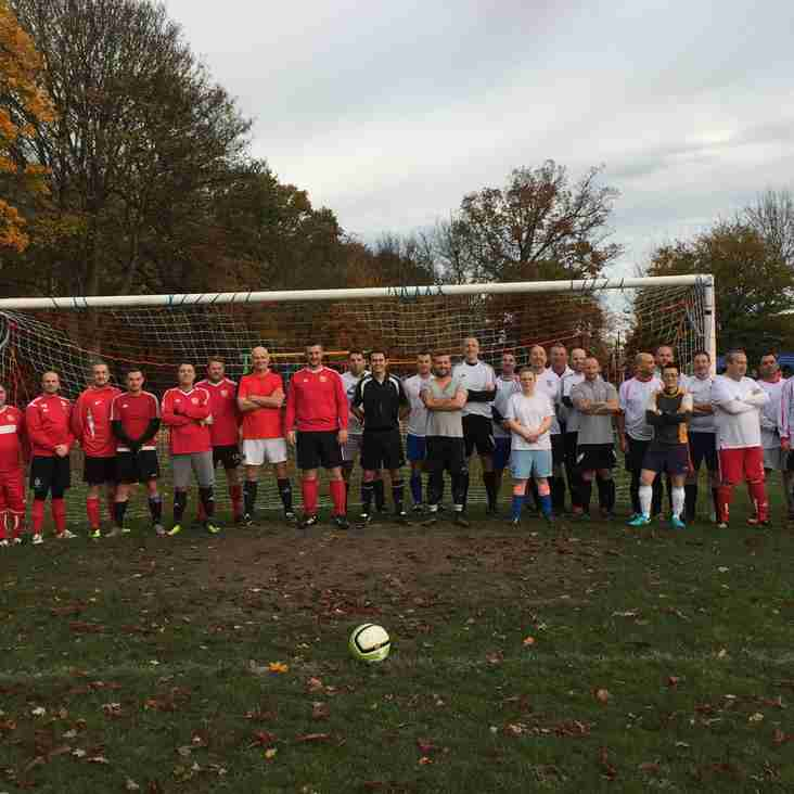Children In Need Charity Match - Sun 17 Nov 17