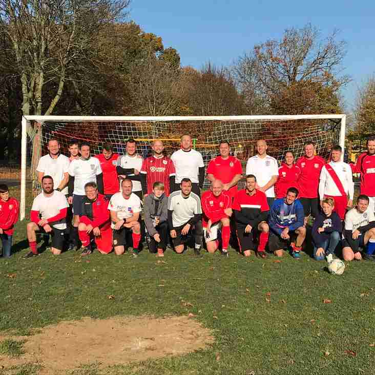 Children in Need Charity Match 2018