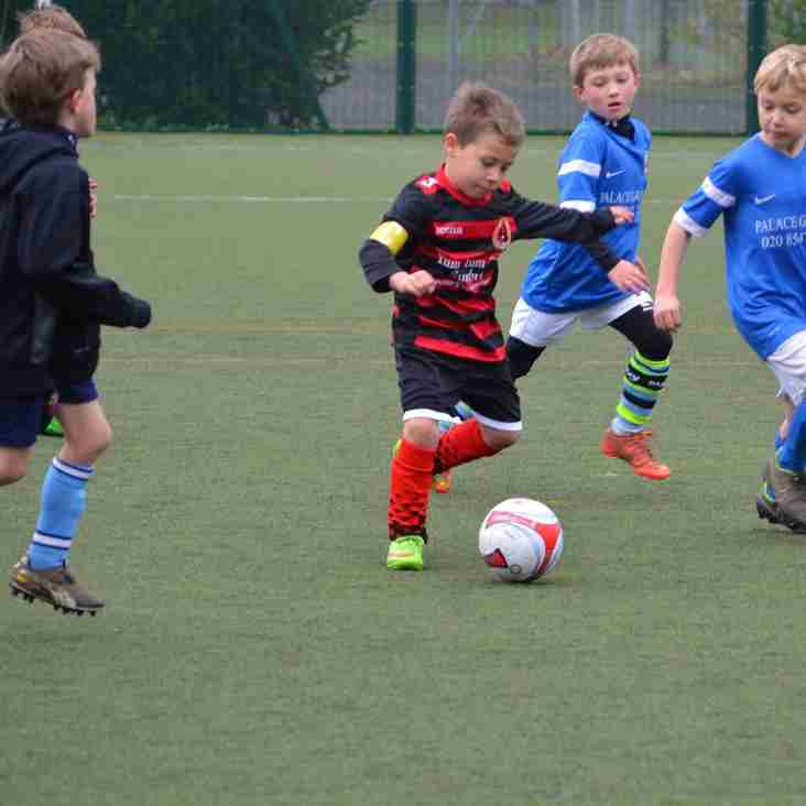 Soccer School every saturday morning at Bedfont Sports Club