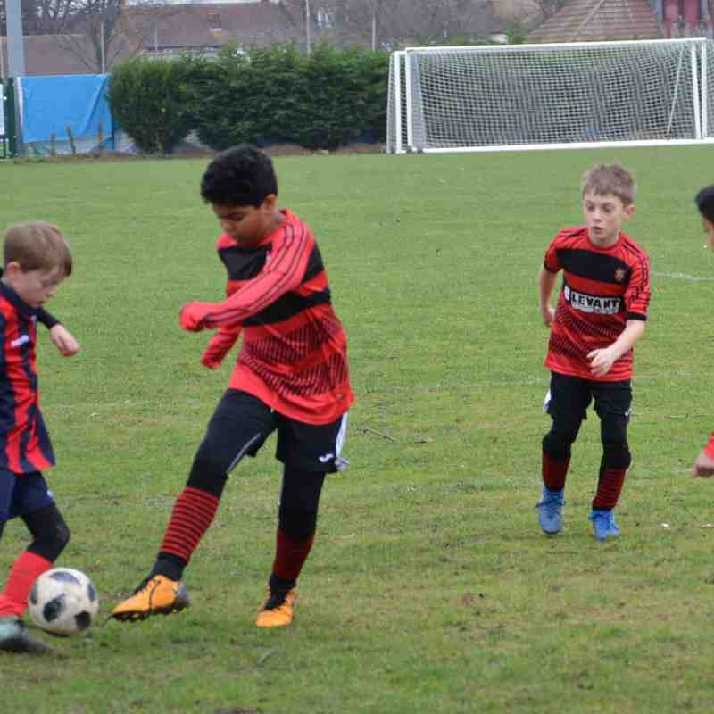 Bedfont Raiders u9s v Hampton & Richmond boro yth bucks u9s.14.01.18