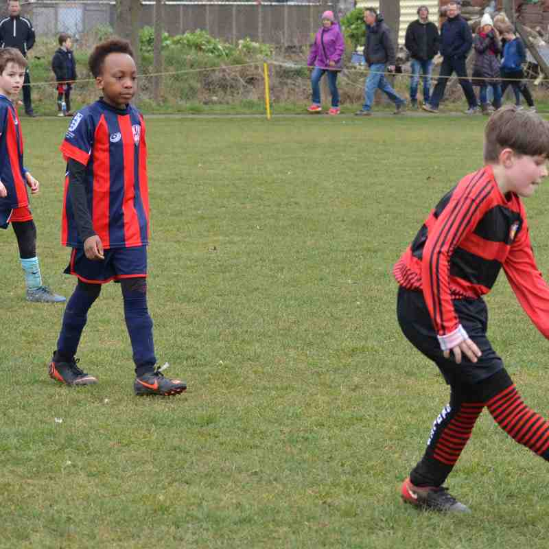 Bedfont Raiders u9s v Kew Park Rangers Blues u9s