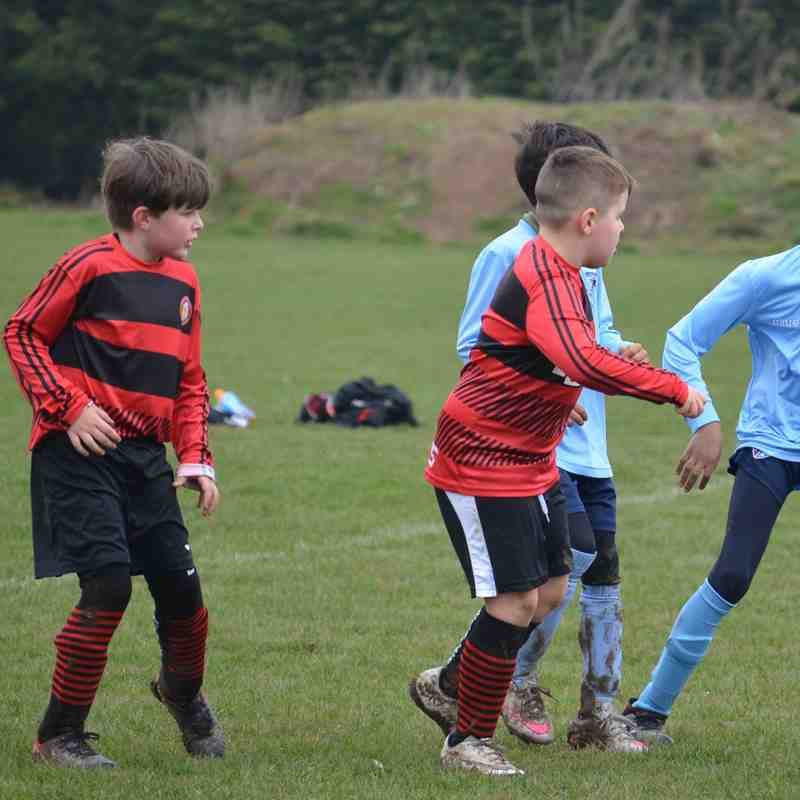 Bedfont Raiders u9s v Kew Association Leopards u9s.