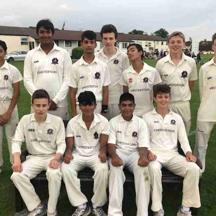 RCC U15s through to County Cup Semis after 10 wicket win