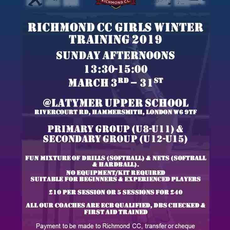 RCC Girls Winter Nets