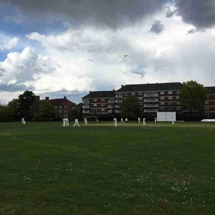 First adult match at Newman Cricket Ground