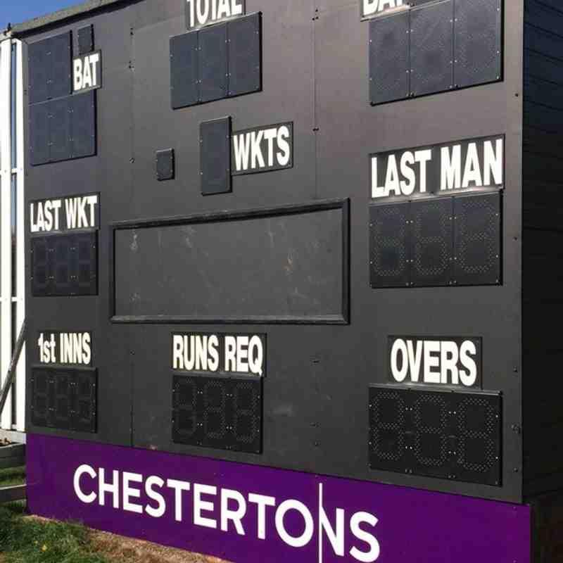 New sponsors on the scoreboard