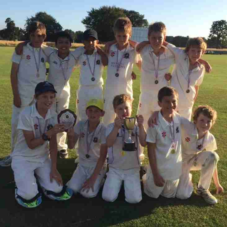 Under 11's are Champions of Middlesex!