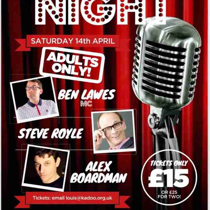 Comedy Night Saturday 14th April