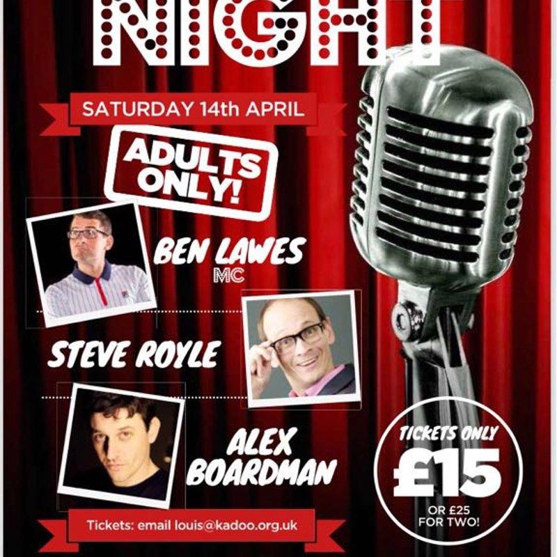 Comedy Night Saturday 14th April
