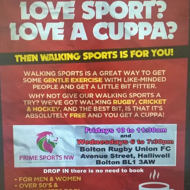 Walking sports - Down at the Rugby Club