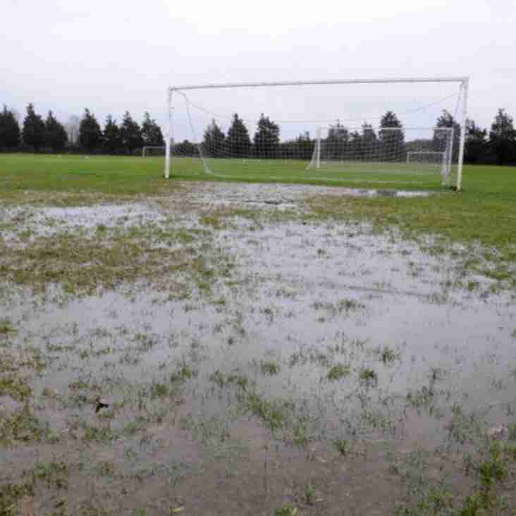 Sunday 17th December: All games on Council pitches are OFF