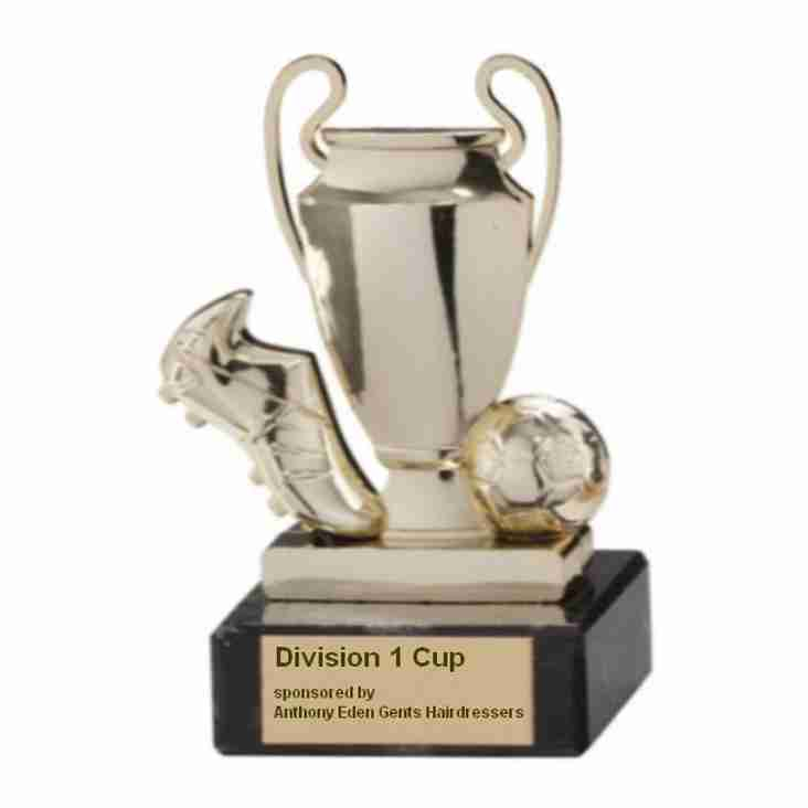 Division One Cup Final - Sunday 25th March