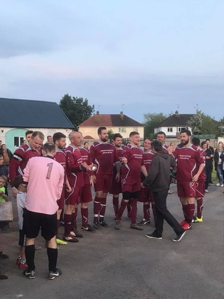 Andy Campbell Cup Winners - Heathcote Athletic