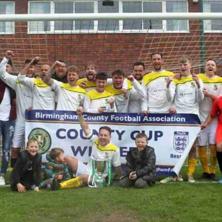 BCFA Sunday Amateur Cup victory for Leamington Hibs