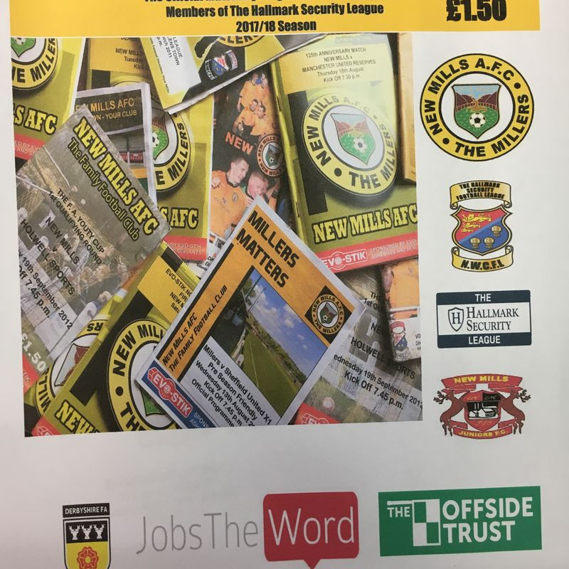 Matchday Programme Sponsorship Opportunities
