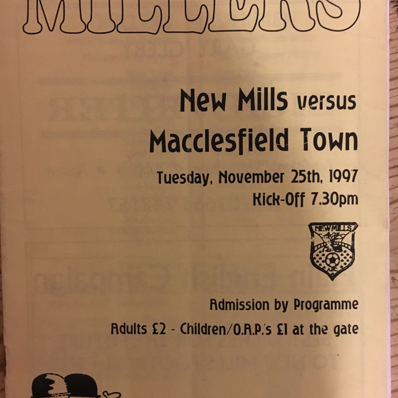 New Mills AFC v Sandbach United - 25 November 2017