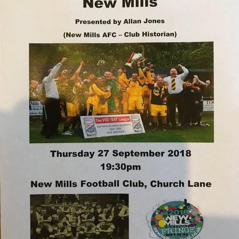 New Mills Festival - An evening with Allan Jones