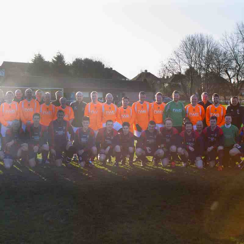 Radcliffe Olympic Boxing Day Charity Game 2016