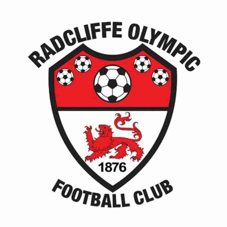 Radcliffe Olympic Ladies Manager Position