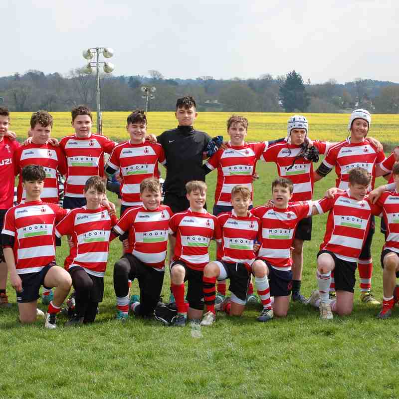 Cro U14s Pulborough 14 April 2019