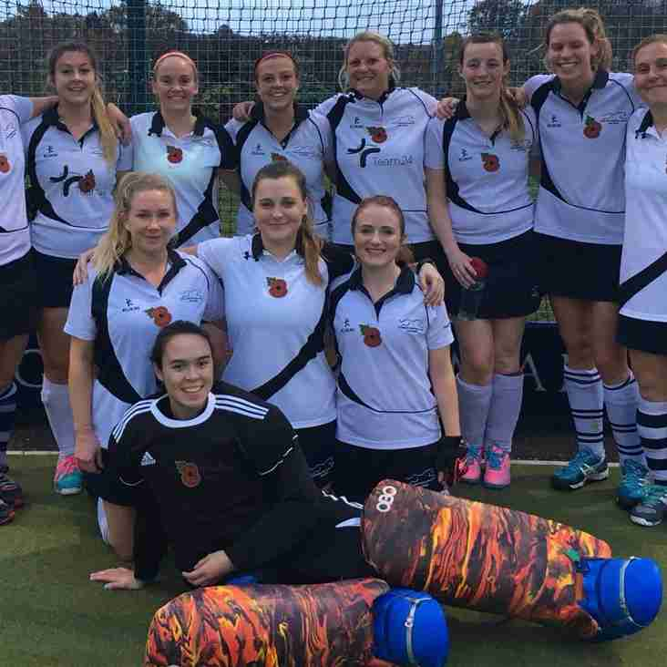 Ladies 1s winning ways