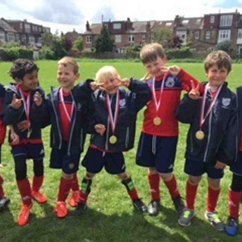 Under 7s Colts Brentford fun day