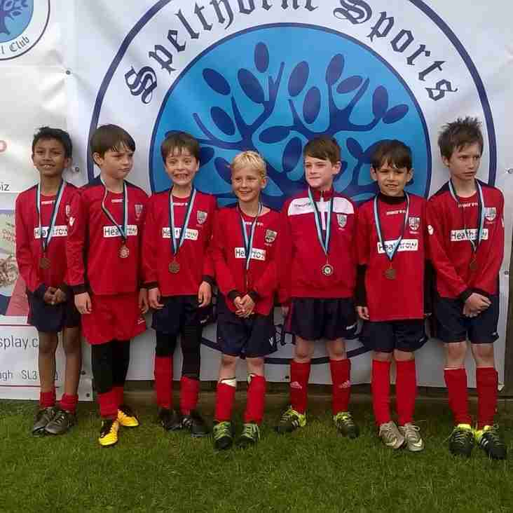 U8 Colts at Spethorne tournament