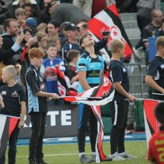 Mersea Juniors Guard Of Honour Sarries v Irish