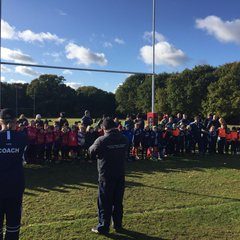 Minis Remembrance At Mistley 2017