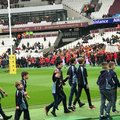Mersea Juniors Unity Parade @ Sarries vs Quins, London Stadium 24th March 2018