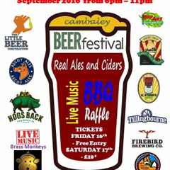 Camberley Cricket Club - 1st Ever CambALEy Beer Festival Saturday 17th September