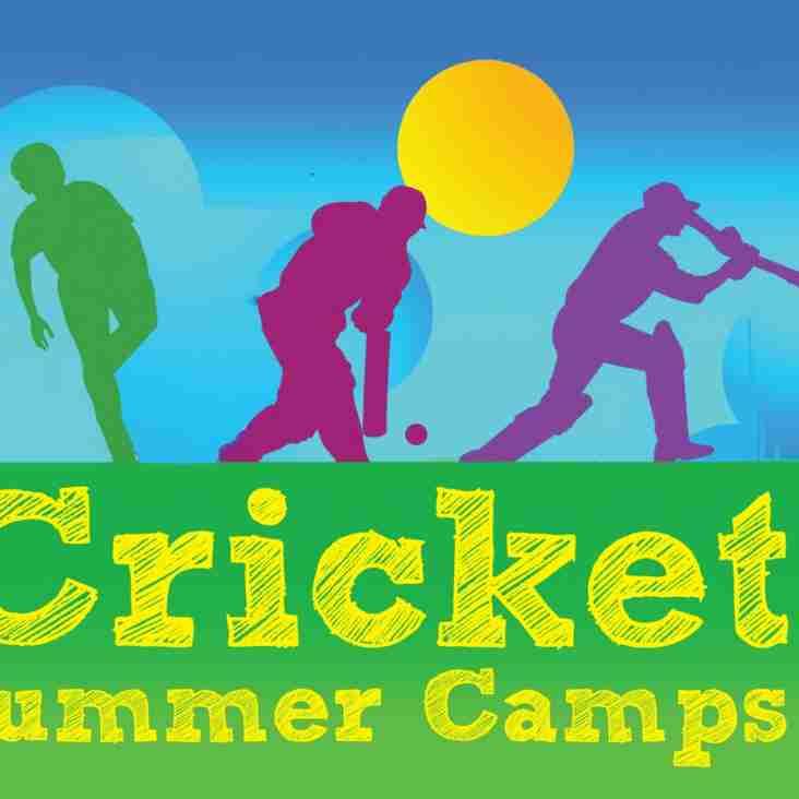 Camberley Cricket Club  - Junior Summer Camps - DATES