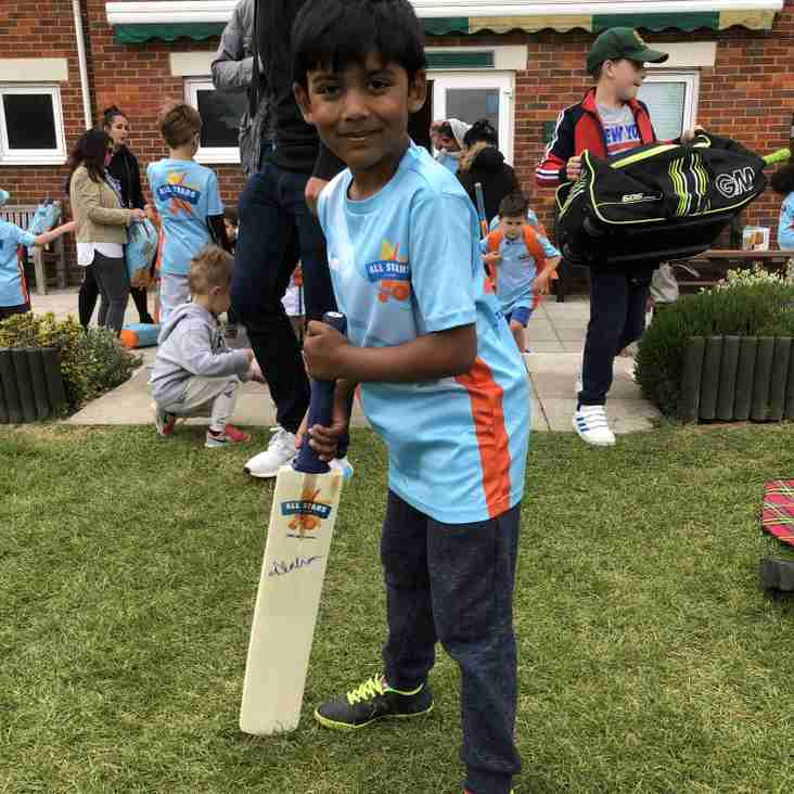 All Stars Cricket - Fantastic Start and Bat Winner