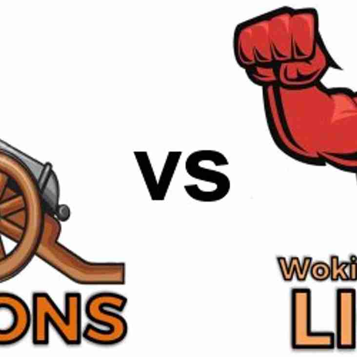 Camberley Cannons vs Woking & Horsell Lions - Surrey Slam T20 Wed 23rd May 6pm