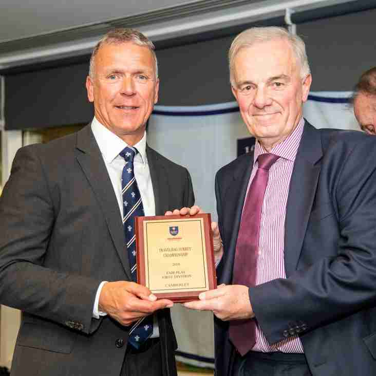 Camberley Cricket Club Wins Surrey Championship Fair Play Award