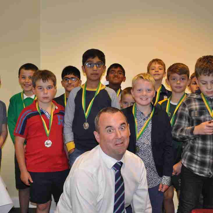 Camberley Cricket Club - Junior Presentation Evening 7th September