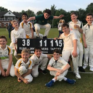 Camberley U12s Triumph against Frimley