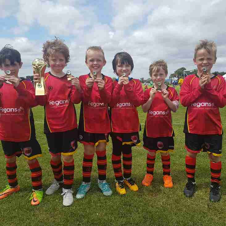 TW Forresters are Paddock Wood Tournament 2018  U7s Champions