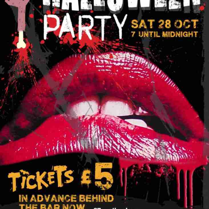 Halloween Party - October 28th