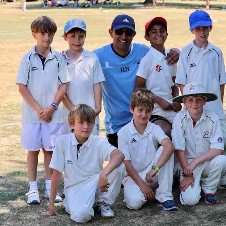 Chenies & Latimer U8s Win the Wooburn Cricket Tournament