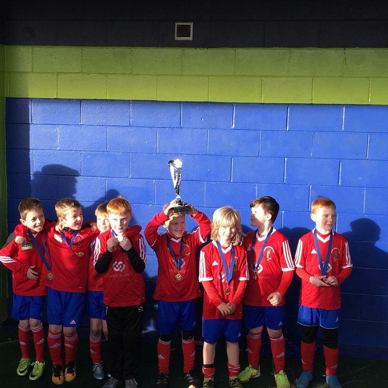 Robin Hood Athletic Under 8 win clubs first cup of 2016/17 season