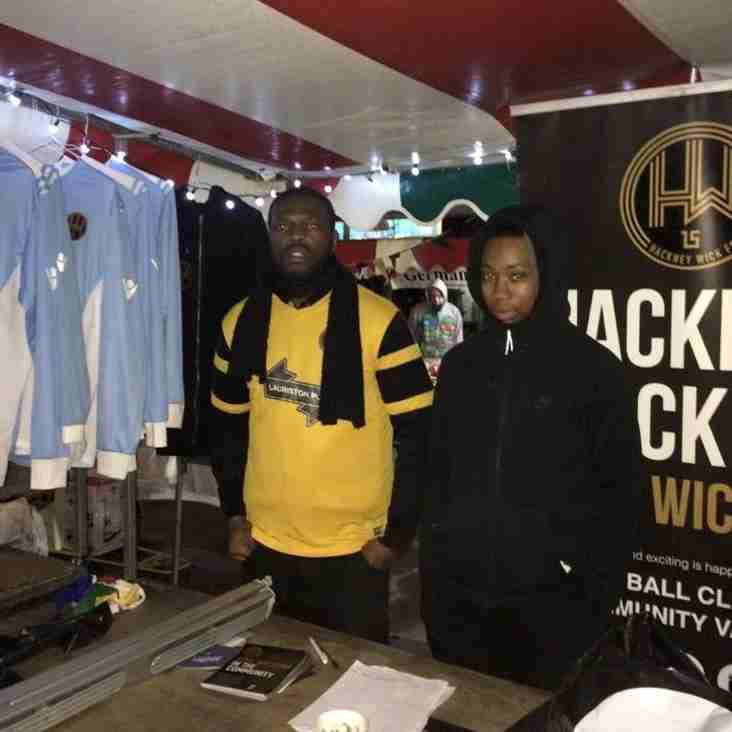 HACKNEY WICK FC MERGER