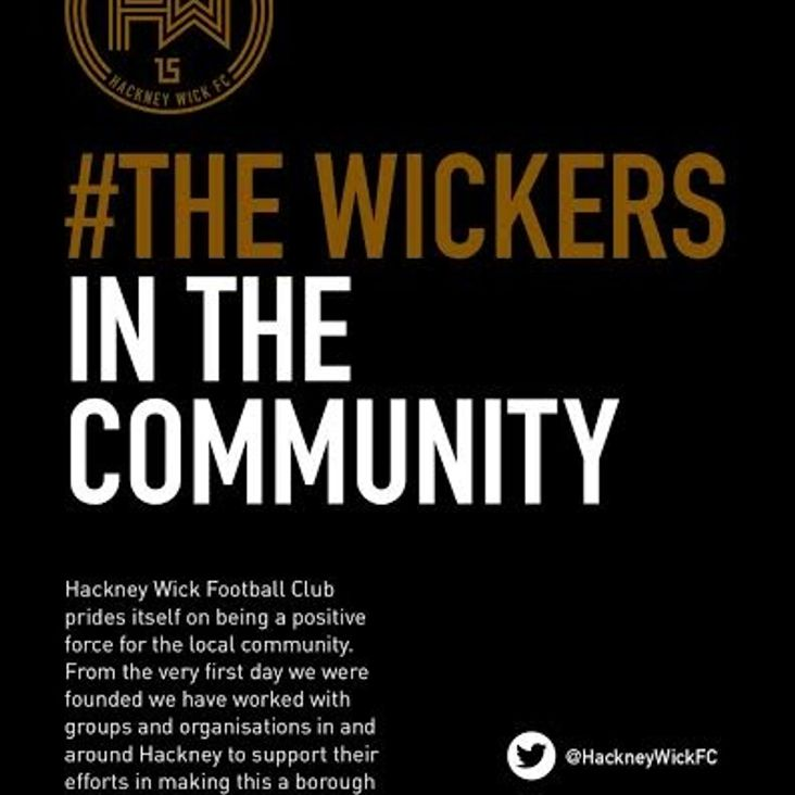 #Wickers in the community<