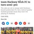 Hackney Wick FC semi professional football club