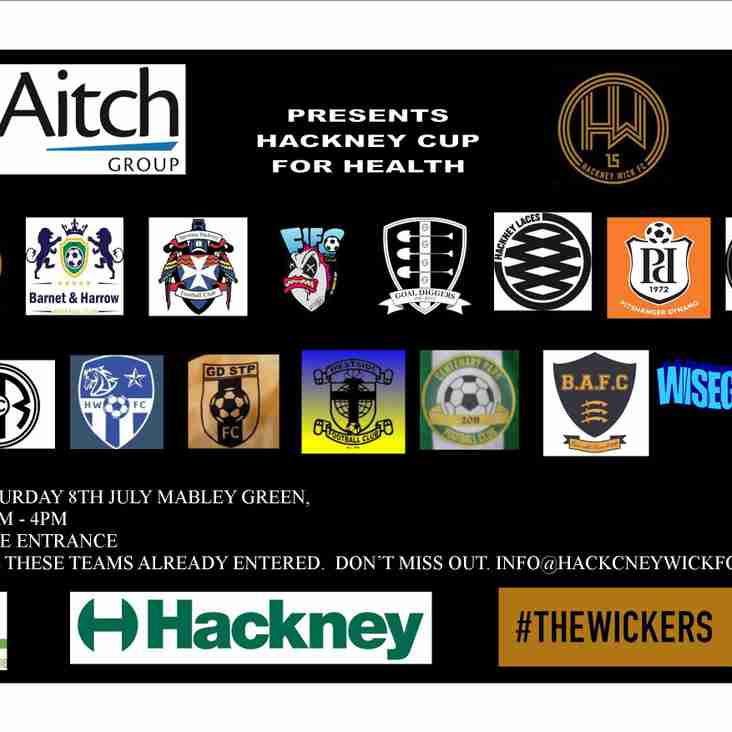 Hackney Cup for Health returns