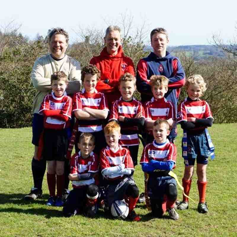 Sussex Mini Rugby Final 12/04/15 - U8 Champions